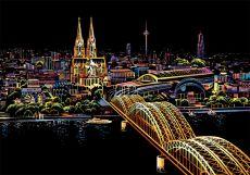 Скретч-набор Cologne Cathedral (Кёльнский собор)