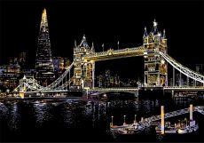 Скретч набор Tower Bridge (Тауэрский мост)